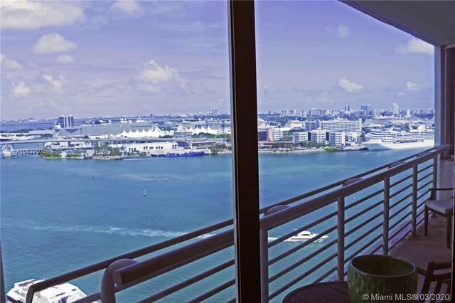 335 S Biscayne Blvd #2408, Miami, FL 33131 (MLS #A10835502) :: The Teri Arbogast Team at Keller Williams Partners SW