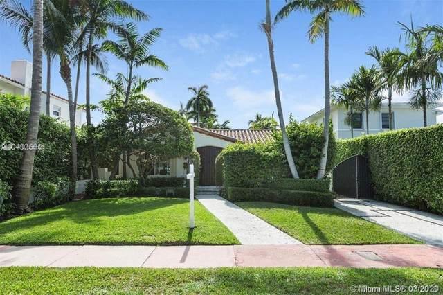 4466 Sheridan Ave, Miami Beach, FL 33140 (MLS #A10835825) :: Castelli Real Estate Services