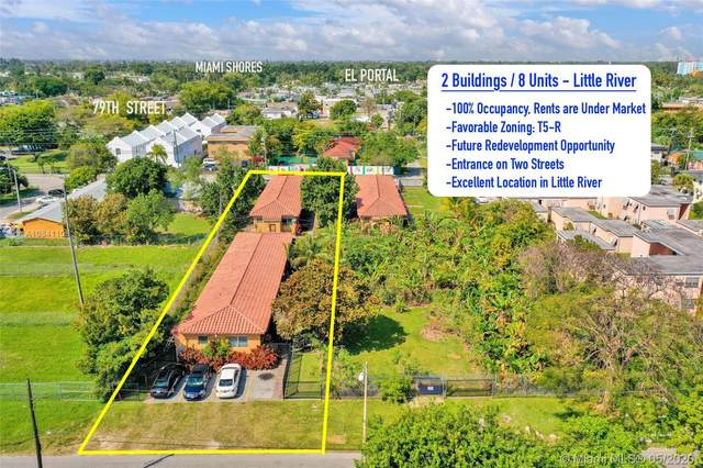 111 NW 76th St, Miami, FL 33150 (MLS #A10841108) :: The Teri Arbogast Team at Keller Williams Partners SW