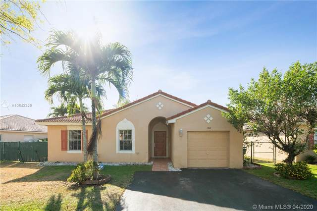 1960 SW 120th Ter, Miramar, FL 33025 (MLS #A10842329) :: The Teri Arbogast Team at Keller Williams Partners SW