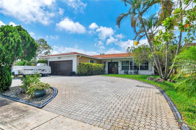 2100 N 54th Ave, Hollywood, FL 33021 (MLS #A10843743) :: Green Realty Properties