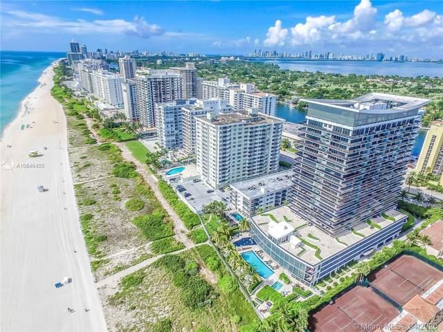 5875 Collins Ave #507, Miami Beach, FL 33140 (MLS #A10846400) :: Castelli Real Estate Services
