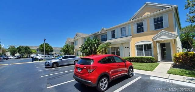 52 Whitehead Cir #52, Weston, FL 33326 (MLS #A10850267) :: The Howland Group