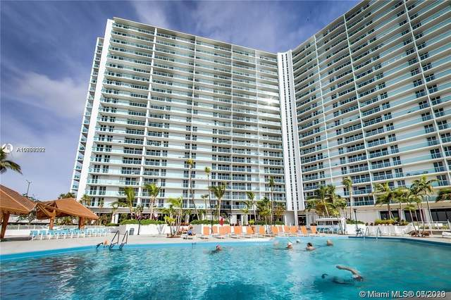 100 Bayview Dr #804, Sunny Isles Beach, FL 33160 (#A10853002) :: Real Estate Authority