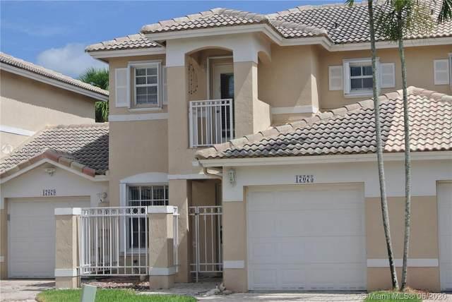 17075 NW 22nd St, Pembroke Pines, FL 33028 (MLS #A10858710) :: Green Realty Properties