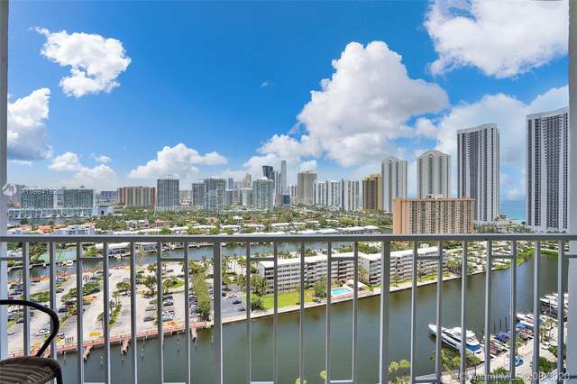 300 NE Bayview Dr #2101, Sunny Isles Beach, FL 33160 (MLS #A10864182) :: The Pearl Realty Group