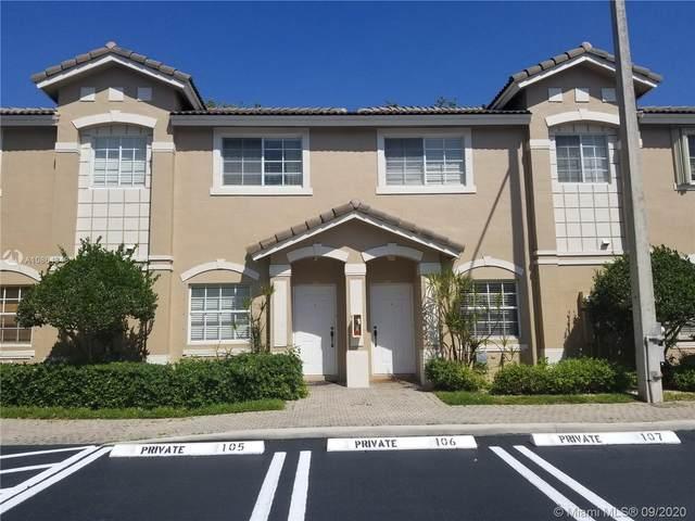 5737 NW 114th Path #110, Doral, FL 33178 (MLS #A10864348) :: Prestige Realty Group
