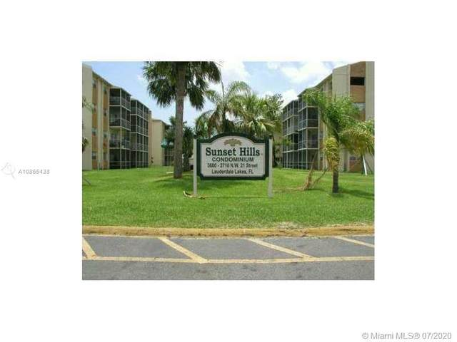 3610 NW 21st St #407, Lauderdale Lakes, FL 33311 (MLS #A10865438) :: Prestige Realty Group