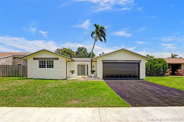 9340 NW 35th Mnr, Sunrise, FL 33351 (MLS #A10866800) :: The Teri Arbogast Team at Keller Williams Partners SW