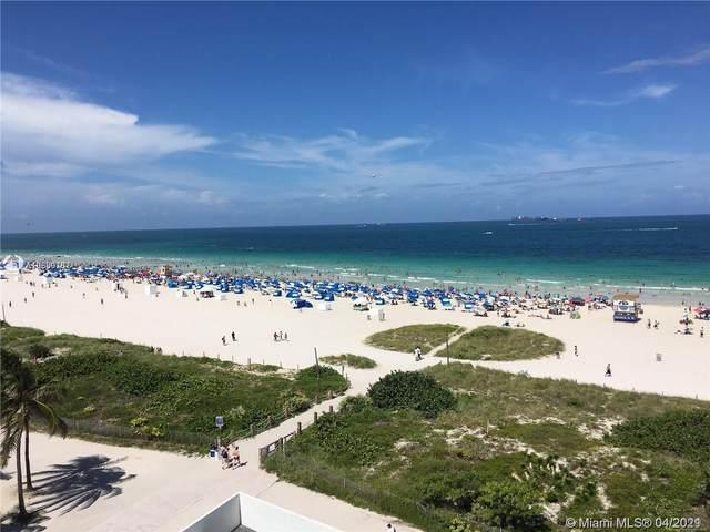 465 Ocean Dr #818, Miami Beach, FL 33139 (#A10869137) :: Posh Properties