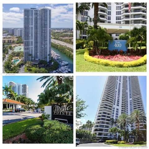 3500 Mystic Pointe Dr #401, Aventura, FL 33180 (MLS #A10872463) :: Carole Smith Real Estate Team