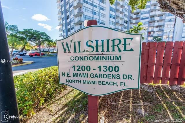 1200 NE Miami Gardens Dr 207W, Miami, FL 33179 (MLS #A10874969) :: Berkshire Hathaway HomeServices EWM Realty