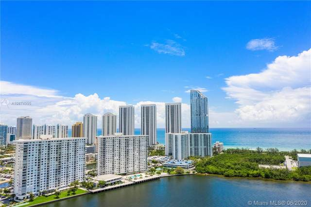 300 Bayview Dr #1510, Sunny Isles Beach, FL 33160 (MLS #A10874995) :: The Pearl Realty Group