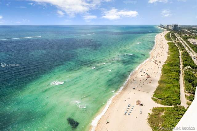 15701 Collins #3203, Sunny Isles Beach, FL 33160 (MLS #A10878623) :: Patty Accorto Team