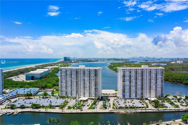 300 Bayview Dr #1515, Sunny Isles Beach, FL 33160 (MLS #A10878675) :: Green Realty Properties