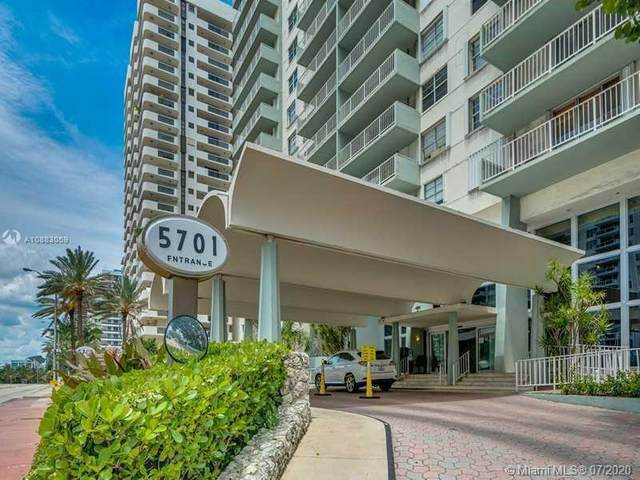 5701 Collins Ave #905, Miami Beach, FL 33140 (MLS #A10883059) :: Ray De Leon with One Sotheby's International Realty