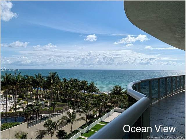 9601 Collins Ave #703, Miami, FL 33154 (MLS #A10884411) :: Green Realty Properties