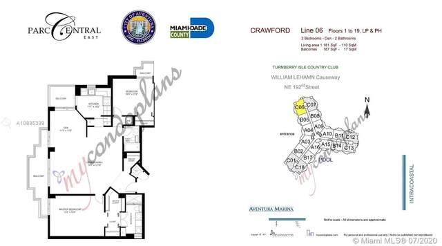 3300 NE 192nd St #706, Aventura, FL 33180 (MLS #A10885399) :: The Riley Smith Group