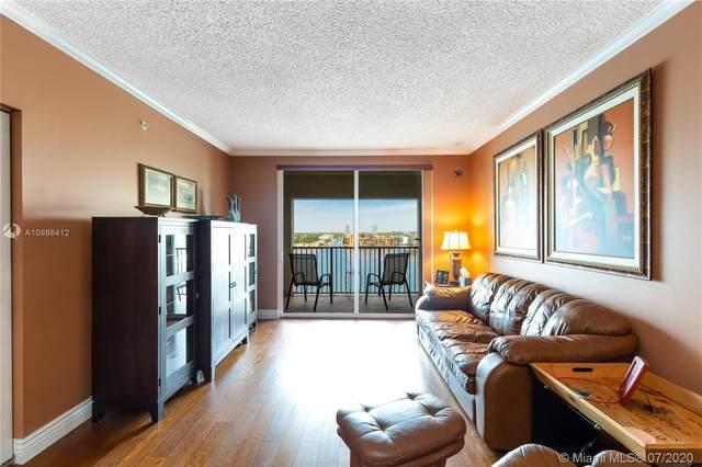 17100 N Bay Rd #1807, Sunny Isles Beach, FL 33160 (MLS #A10886412) :: Green Realty Properties