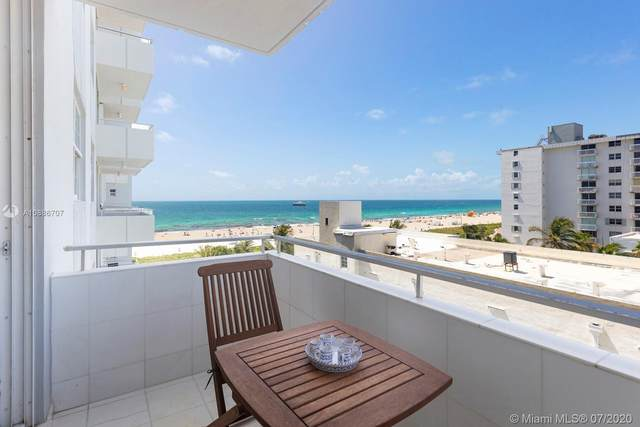 465 Ocean Dr #710, Miami Beach, FL 33139 (MLS #A10886707) :: ONE Sotheby's International Realty