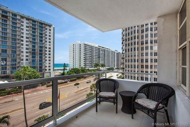 5700 Collins Ave 6D, Miami Beach, FL 33140 (MLS #A10886792) :: ONE Sotheby's International Realty