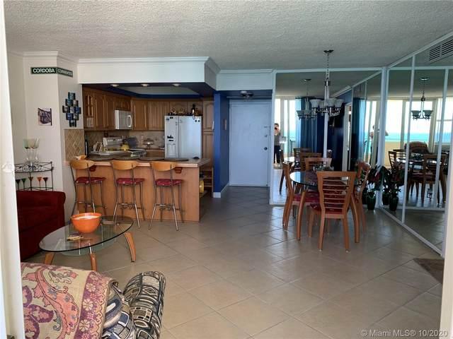 3180 S Ocean Dr #1203, Hallandale Beach, FL 33009 (MLS #A10891060) :: Carole Smith Real Estate Team