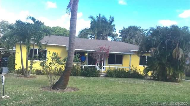1383 NE 34th Ct, Oakland Park, FL 33334 (MLS #A10891773) :: Berkshire Hathaway HomeServices EWM Realty