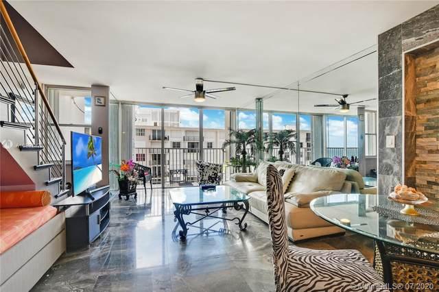 111 Briny Ave Ph9, Pompano Beach, FL 33062 (MLS #A10892472) :: Berkshire Hathaway HomeServices EWM Realty
