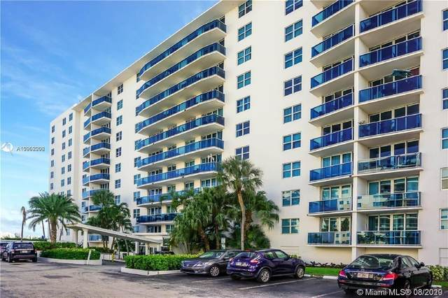 7501 E Treasure Dr 10M, North Bay Village, FL 33141 (MLS #A10902206) :: Berkshire Hathaway HomeServices EWM Realty