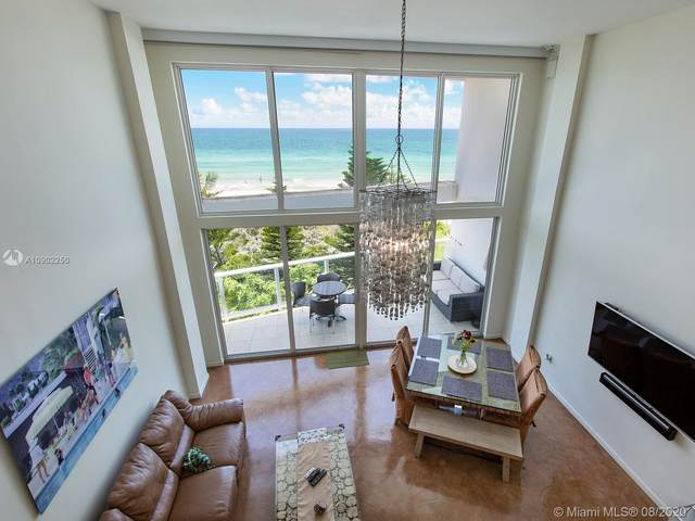 5445 Collins Ave P2, Miami Beach, FL 33140 (MLS #A10902250) :: Berkshire Hathaway HomeServices EWM Realty