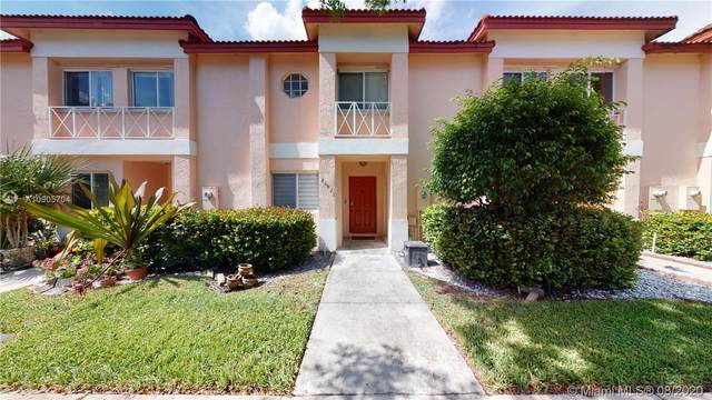 20821 NW 2nd St #20821, Pembroke Pines, FL 33029 (MLS #A10905704) :: Berkshire Hathaway HomeServices EWM Realty