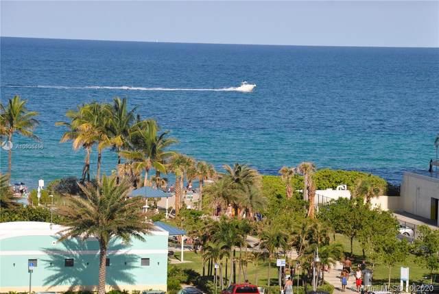 1865 S Ocean Dr 9G, Hallandale Beach, FL 33009 (MLS #A10906456) :: Carole Smith Real Estate Team