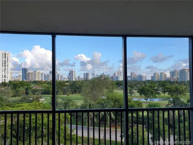 3301 N Country Club Dr #709, Aventura, FL 33180 (MLS #A10907853) :: ONE Sotheby's International Realty
