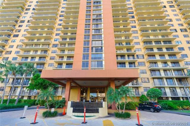 290 174th St #1709, Sunny Isles Beach, FL 33160 (MLS #A10910884) :: Castelli Real Estate Services