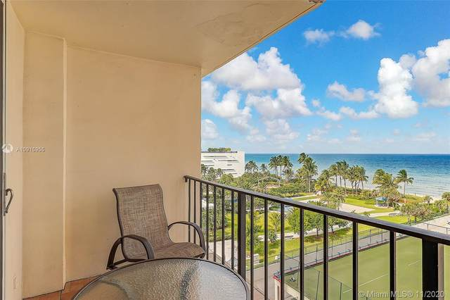 1880 S Ocean Dr #707, Hallandale Beach, FL 33009 (MLS #A10915955) :: Ray De Leon with One Sotheby's International Realty