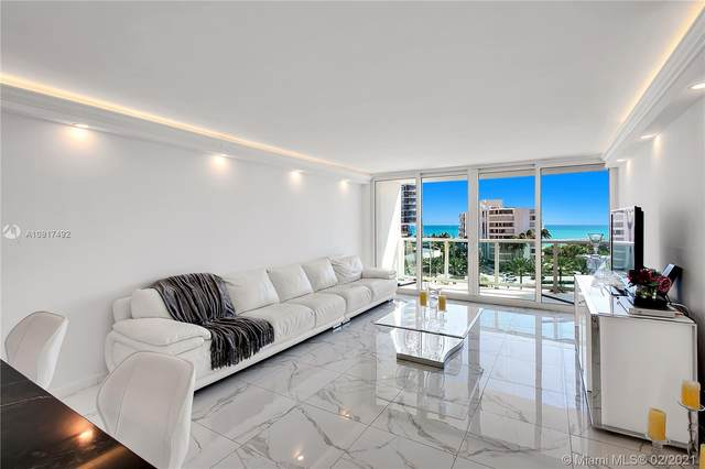 100 Bayview Dr. #709, Sunny Isles Beach, FL 33160 (MLS #A10917492) :: Search Broward Real Estate Team