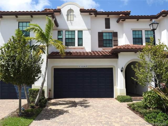 11347 SW 13th St, Pembroke Pines, FL 33025 (MLS #A10918173) :: Berkshire Hathaway HomeServices EWM Realty