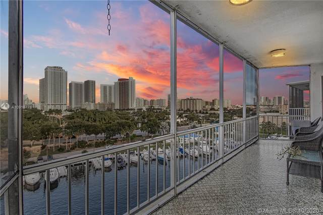 200 Diplomat Pkwy #820, Hallandale Beach, FL 33009 (MLS #A10918776) :: Ray De Leon with One Sotheby's International Realty