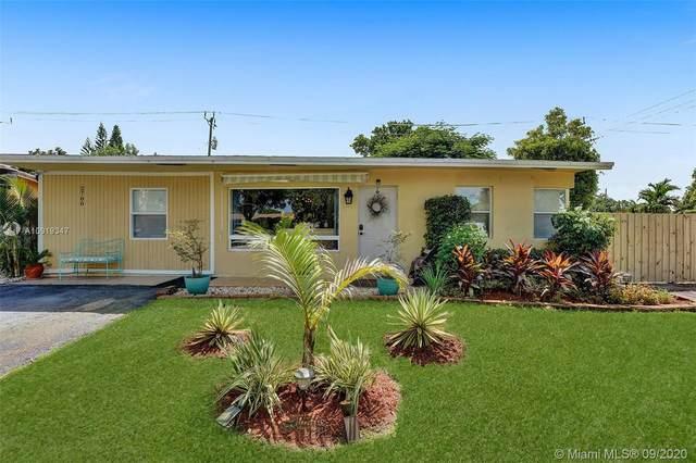 2700 NE 8th Ter, Pompano Beach, FL 33064 (MLS #A10919347) :: ONE | Sotheby's International Realty