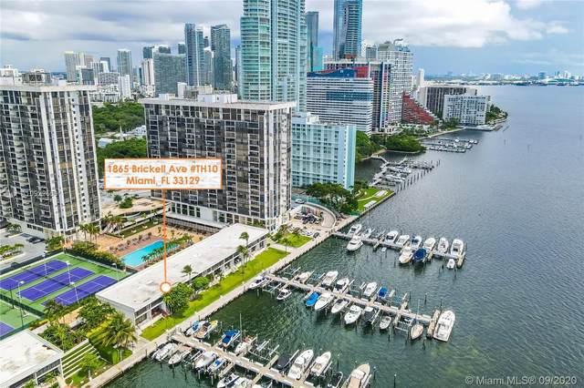 1865 Brickell Ave Th10, Miami, FL 33129 (MLS #A10922558) :: Re/Max PowerPro Realty