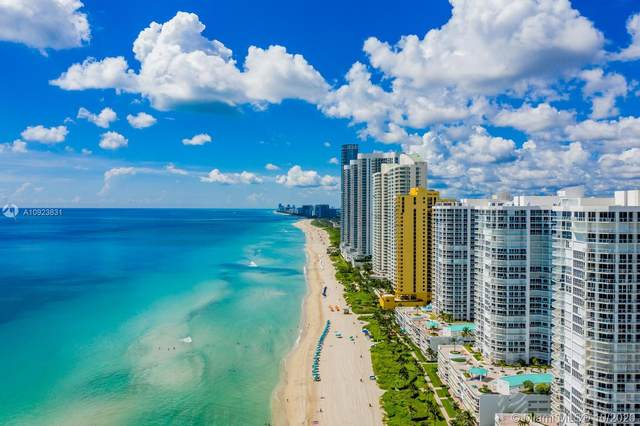 16485 Collins Ave #734, Sunny Isles Beach, FL 33160 (MLS #A10923831) :: KBiscayne Realty