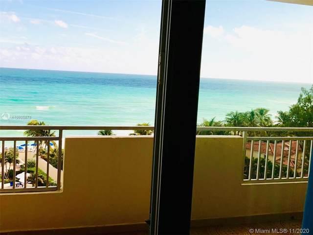 3180 S Ocean Dr #715, Hallandale Beach, FL 33009 (MLS #A10925878) :: ONE Sotheby's International Realty