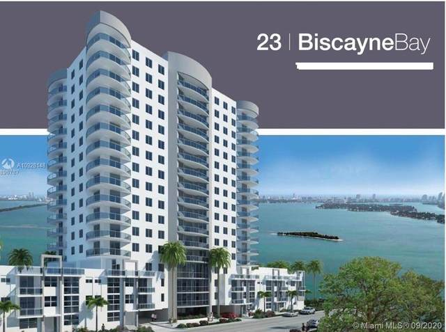 601 NE 23rd St #702, Miami, FL 33137 (MLS #A10928148) :: Prestige Realty Group