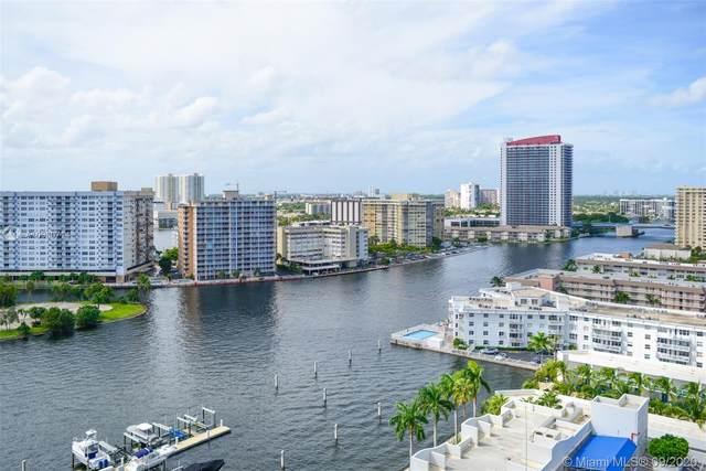 1965 S Ocean Dr 16D, Hallandale Beach, FL 33009 (MLS #A10930714) :: Carole Smith Real Estate Team