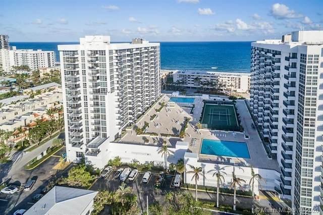 525 N Ocean Blvd #622, Pompano Beach, FL 33062 (MLS #A10933513) :: Patty Accorto Team