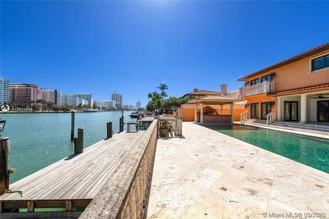 5445 Pine Tree Dr, Miami Beach, FL 33140 (MLS #A10934804) :: Berkshire Hathaway HomeServices EWM Realty