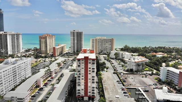 3161 S Ocean Dr #809, Hallandale Beach, FL 33009 (MLS #A10935254) :: Carole Smith Real Estate Team