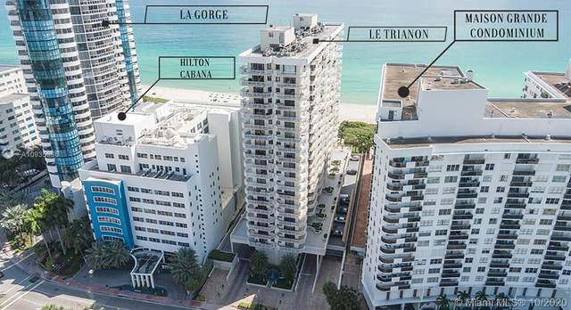 6061 Collins Ave 7A, Miami Beach, FL 33140 (MLS #A10935965) :: Ray De Leon with One Sotheby's International Realty