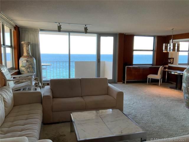 1912 S Ocean Dr 11D, Hallandale Beach, FL 33009 (MLS #A10936327) :: Green Realty Properties