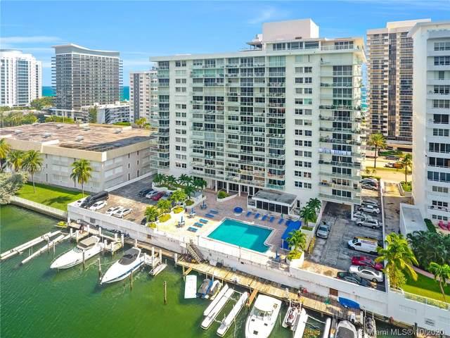 5750 Collins Ave 14A, Miami Beach, FL 33140 (MLS #A10937337) :: The Azar Team